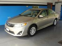Beige 2013 Toyota Camry LE FWD 6-Speed Automatic 2.5L