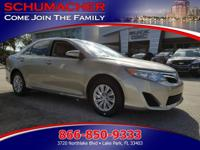 Options:  2013 Toyota Camry Le| |Child Protector Rear