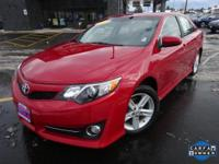 Options:  2013 Toyota Camry Se|Red|Recent Arrival!