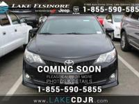 This 2013 Toyota Camry SE is offered to you for sale by