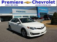 Options:  2013 Toyota Camry White/ V4 2.5L