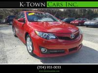 Options:  2013 Toyota Camry Se Sedan