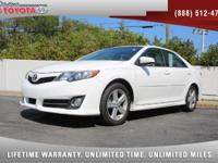 2013 Toyota Camry SE, *** 1 FLORIDA OWNER *** CLEAN