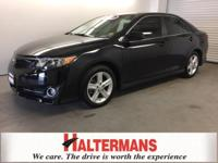 FOG LIGHTS and ALLOY WHEELS. Camry SE, FWD, ABS brakes,