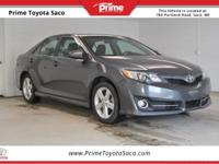 CARFAX One-Owner! Toyota Certified! 2013 Toyota Camry