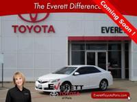 Recent Arrival! 2013 Toyota Camry SE Super White 2.5L