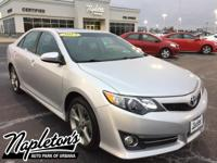 Recent Arrival! 2013 Toyota Camry SE in Classic Silver