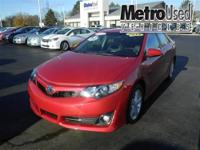 SAVE $$$$$$!!!! TOYOTA CAMRY SE Lightly used service