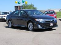 Clean CARFAX. Blue 2013 Toyota Camry XLE FWD 6-Speed