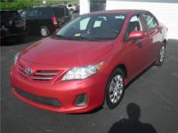 2013 Toyota Corolla 4 Door Sedan Our Location is: