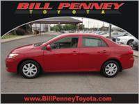 2013 Toyota Corolla 4 Dr Sedan Our Location is: Bill