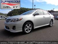 Look at this sweet 2013 Toyota Corolla S, call today to