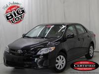 Corolla L, Toyota Certified, ABS brakes, Digital