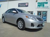 1 Owner 2013 Toyota corolla with 53k miles!!!! This is