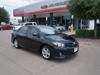NEW ARRIVAL! This 2013 Toyota Corolla S looks great