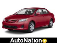This 2013 Toyota Corolla LE is offered solely by