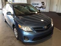 This outstanding example of a 2013 Toyota Corolla L is