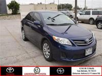 Come see this 2013 Toyota Corolla LE. It has an