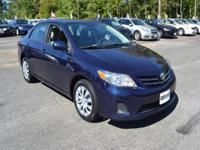 This 2013 Toyota Corolla 4dr LE 4-Speed AT features a
