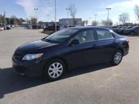 Nautical Blue Metallic 2013 Toyota Corolla L FWD