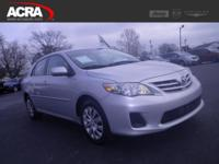 2013 Corolla, 123,706 miles, options include:  Power