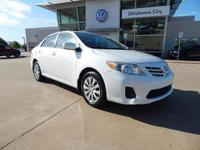Recent Arrival! 2013 Toyota Corolla We offer a 6 month