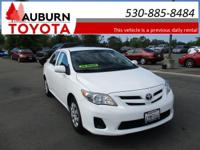 LOW MILES!!  This 2013 Toyota Corolla L sedan has just