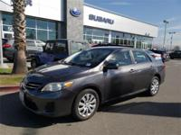 Options:  2013 Toyota Corolla Le 4D Sedan|6