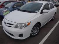 Recent Arrival! 2013 Toyota Corolla LEClean CARFAX. ABS