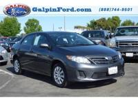 2013 Toyota Corolla LE 4D Sedan LE Our Location is: