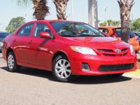 New Price! This 2013 Toyota Corolla LE in Red features: