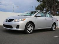 This 2013 Toyota Corolla LE is offered to you for sale