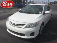 Check out this gently-used 2013 Toyota Corolla we