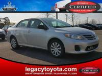 Clean CARFAX. 34/26 Highway/City MPG 2013 Toyota
