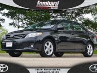 Options:  2013 Toyota Corolla Le|Black/Gray|V4 1.8L I4