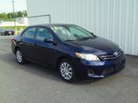 ONE OWNER!! 2013 TOYOTA COROLLA LE!! FUEL EFFICIENT