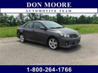 2013 Toyota Corolla S Vehicle Highlights Include...,