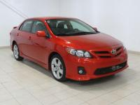 Hot Lava 2013 Toyota Corolla S FWD 4-Speed Automatic