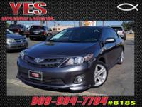Options:  2013 Toyota Corolla S Automatic|**Internet
