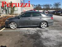 Clean CARFAX. Gray 2013 Toyota Corolla S FWD 4-Speed