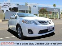This outstanding 2013 Toyota Corolla S is offered by