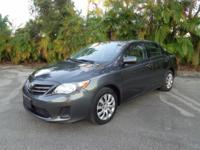 Options:  2013 Toyota Corolla Below Market Value!!!..No