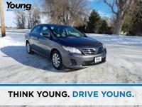 2013 Toyota Corolla. ABS brakes, Brake assist, Occupant