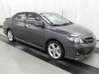 2013 Toyota Corolla S. A total gas saver. Save money on