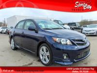 Carfax One Owner, Corolla S, 4-Speed Automatic,