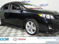 2013 Toyota Corolla S VEHICLE DETAILED RECENT OIL