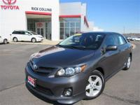 This 2013 Toyota Corolla comes equipped with touch