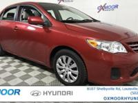 Toyota Corolla LE CARFAX One-Owner. Clean Carfax - 1