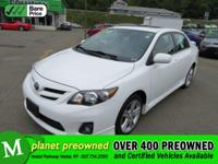 Meet our reliable 2013 Toyota Corolla S shown in
