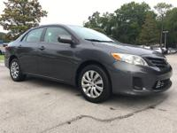 PREMIUM & KEY FEATURES ON THIS 2013 Toyota Corolla